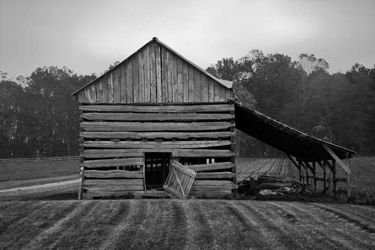 Black And White Closing The Barn Door